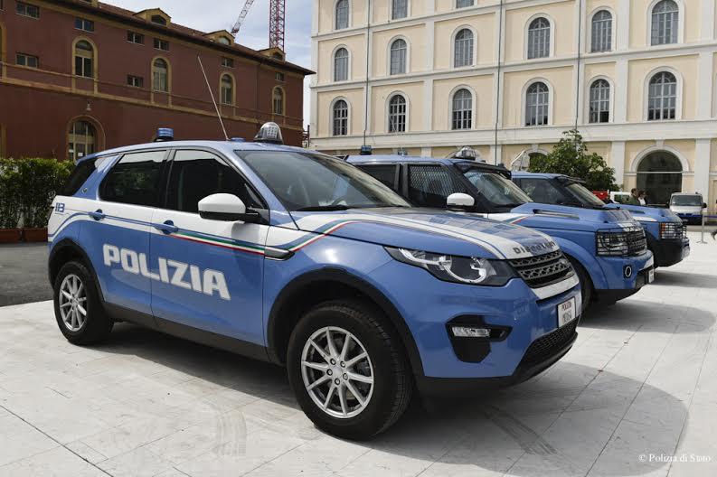 Land Rover Polizia di Stato