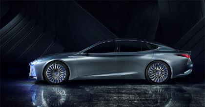 Lexus LS+ Concept profilo