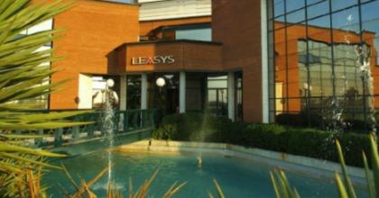 L'ingresso della sede romana di Leasys