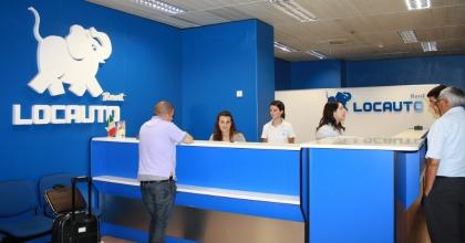 Il punto vendita Locauto a Malpensa
