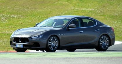 Maserati Ghibli grigio antracite Fleet Motor Day 2015
