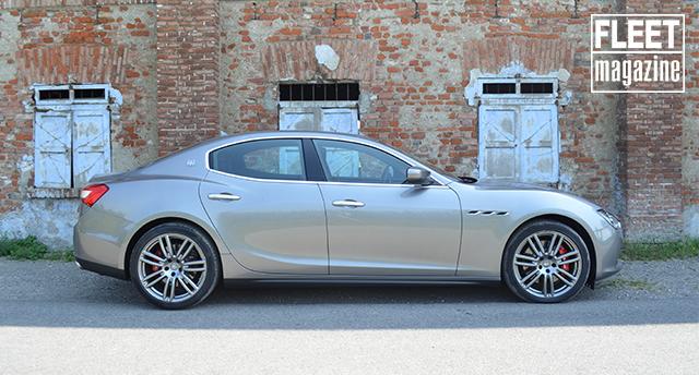 Maserati Ghibli SQ4 design fiancata