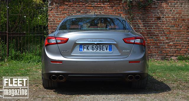 Maserati Ghibli SQ4 posteriore