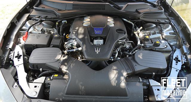 Maserati Ghibli SQ4 prestazioni motore