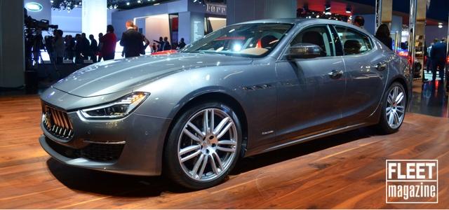 Maserati Ghibli GranLusso al Salone di Francoforte 2017