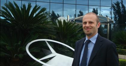 Massimiliano Luigi Gardoni, Mercedes-Benz