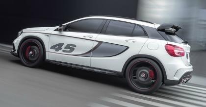 Mercedes, la nuova Concept GLA 45 AMG