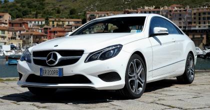 Mercedes, la nuova Classe E coupé