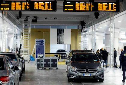 Mercedes GLA, la presentazione alla Stazione di Bologna