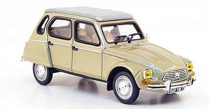 Modellino Citroen Dyane 1976 giocattolo