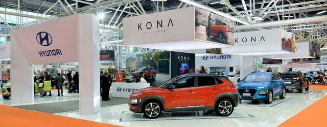 Motor Show 2017 stand Hyundai Kona