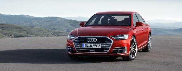 Motori mild hybrid nuova Audi A8