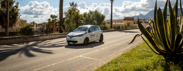 Noleggio auto elettriche Sicily by car