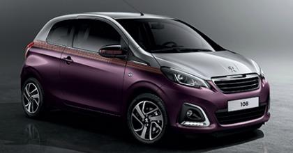 Nuova Peugeot 108 2014