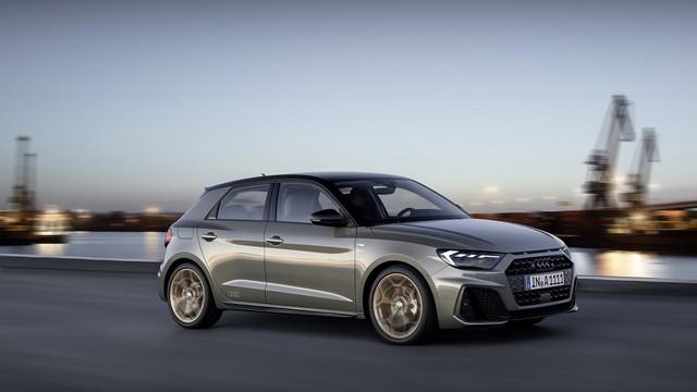 Assetto sportivo di nuova Audi A1 Sportback