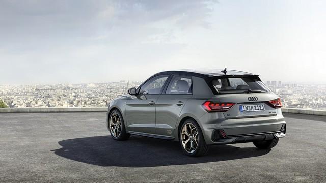 Nuova Audi A1 Sportback, motori benzina