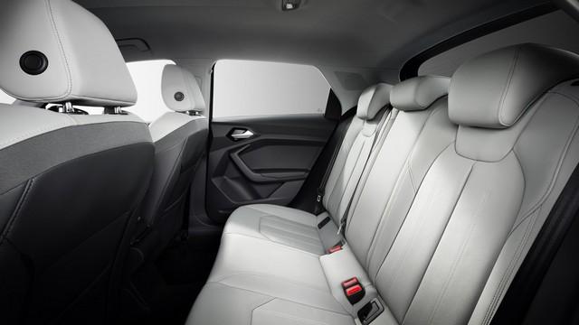 Sedili di nuova Audi A1 Sportback