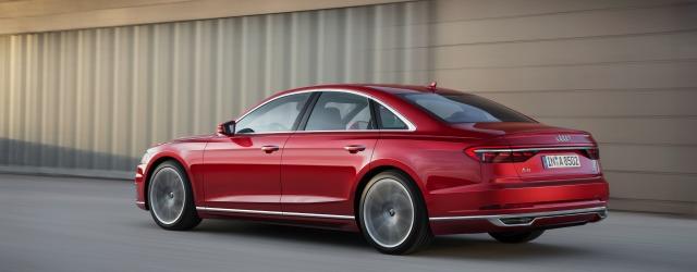 nuova Audi A8 Mild Hybrid