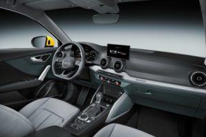 Nuova Audi Q2 abitacolo