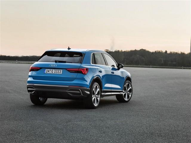 Dimensioni di nuova Audi Q3