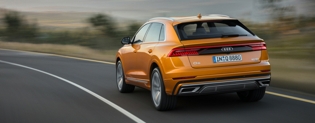 Nuova Audi Q8 design