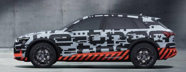 Nuova Audi e-tron 2018