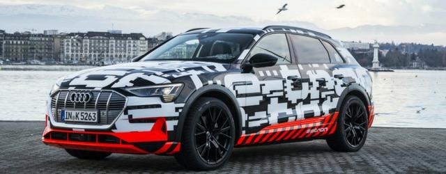 Nuova Audi e-tron Suv elettrico