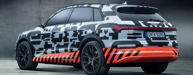 Nuova Audi e-tron al salone di Ginevra 2018