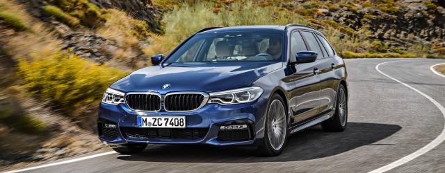 nuova BMW Serie 5 Touring 2017