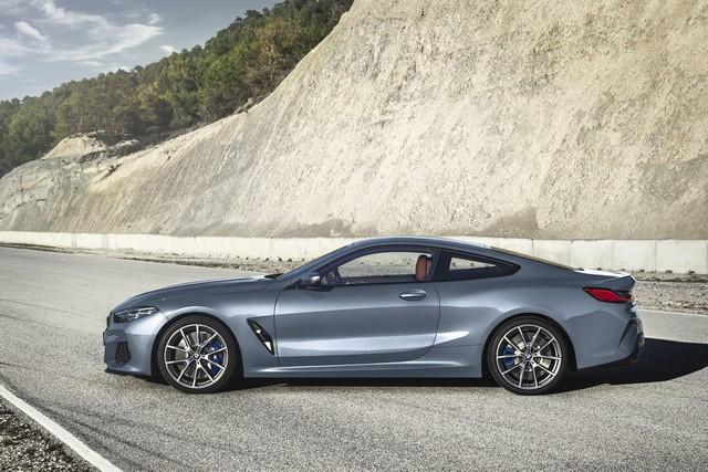 Dimensioni di nuova BMW Serie 8 Coupe