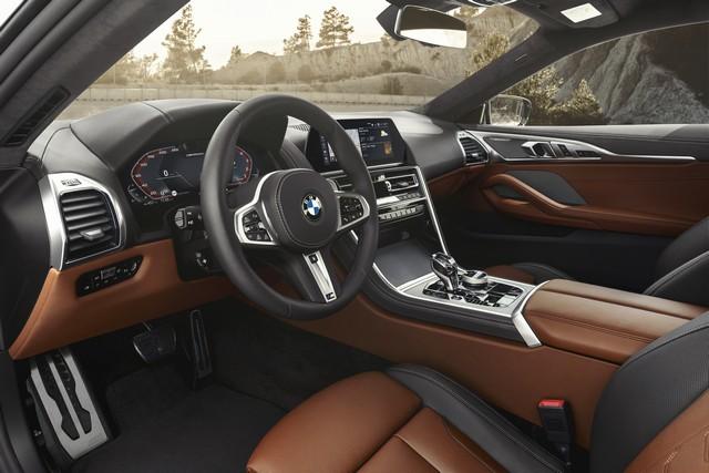 Interni di BMW Serie 8 Coupé