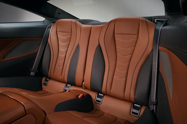 Sedili posteriori di BMW Serie 8 Coupe
