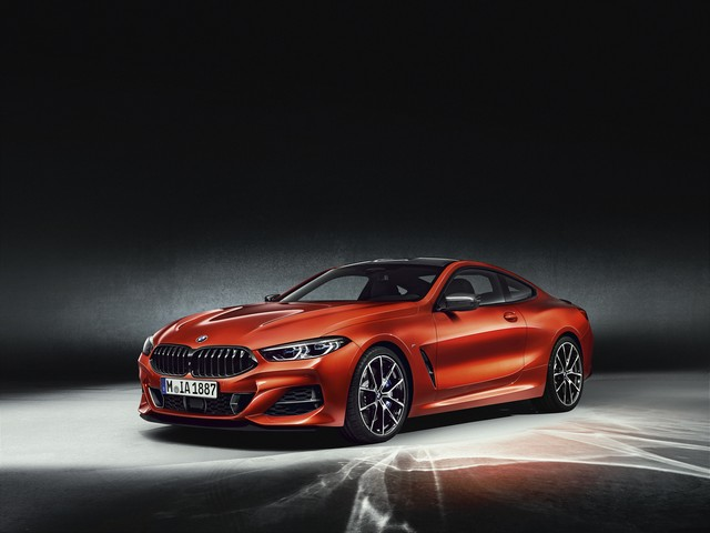 BMW Serie 8 con Carbon Pack