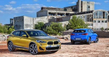 Nuova BMW X2 2018 gamma