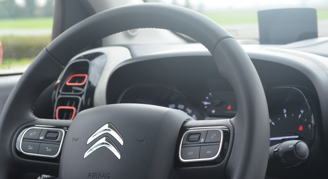 Nuova Citroën C3 Aircross head-up display