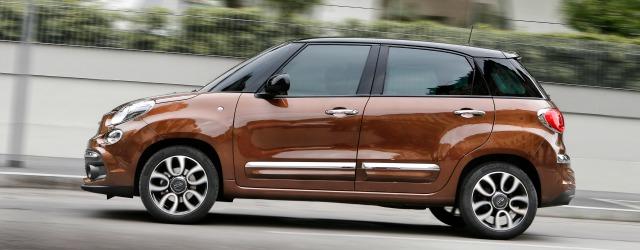 Nuova Fiat 500L 2017 esterni