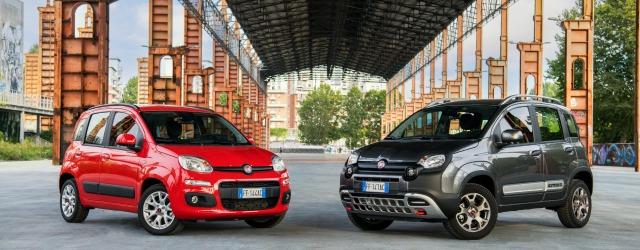 Nella Nuova Fiat Panda colori rinnovati