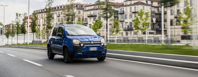Nuova Fiat Panda Waze 2018 dinamica