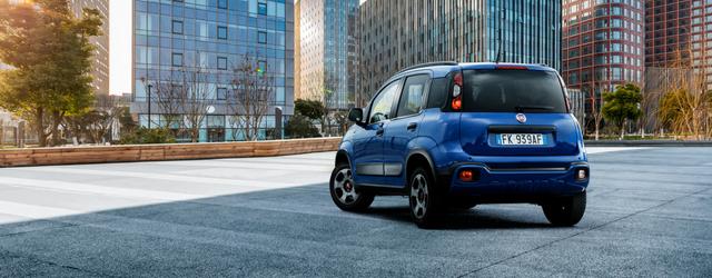 Nuova Fiat Panda Waze 2018