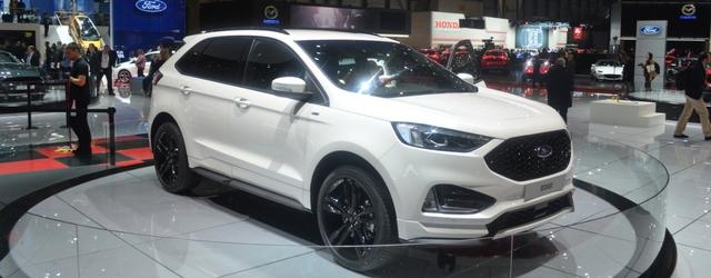 Nuova Ford Edge 2018 al Salone di Ginevra