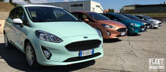La nuova Ford Fiesta con i motori Ford EcoBoost