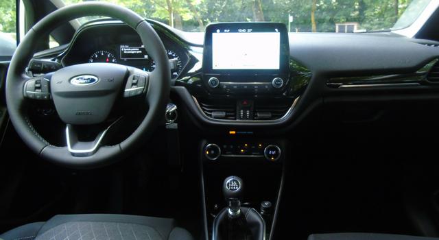Nuova Ford Fiesta Active 2018 interni