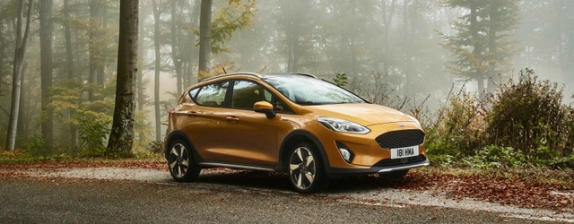 Nuova Ford Fiesta Active 2018
