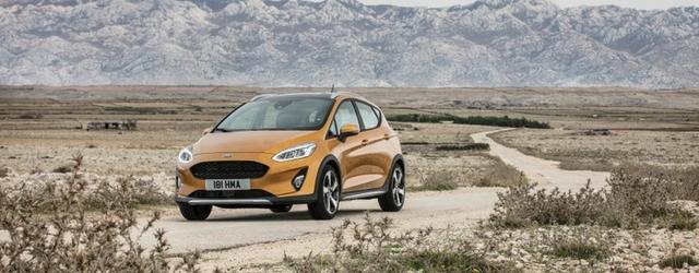 Nuova Ford Fiesta Active esterni