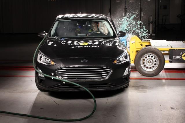 Nuova Ford Focus 5 stelle EuroNCAP