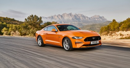 Nuova Ford Mustang Salone di Francoforte 2017