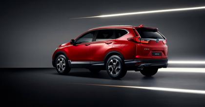 Nuova Honda CR-V 2018 rossa