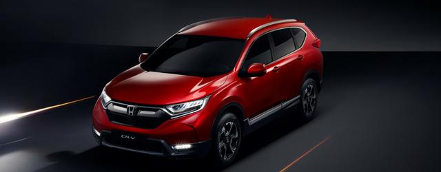 Nuova Honda CR-V 2018