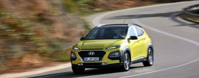 La nuova Hyundai Kona su strada