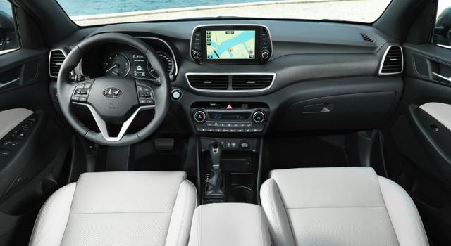 Nuova Hyundai Tucson 2018 interni